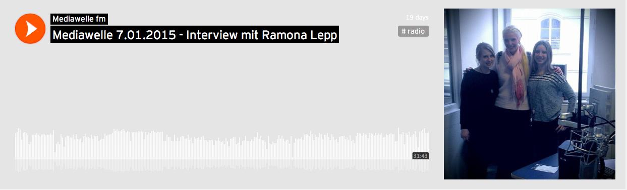 Mediawelle FM Ramona Lepp